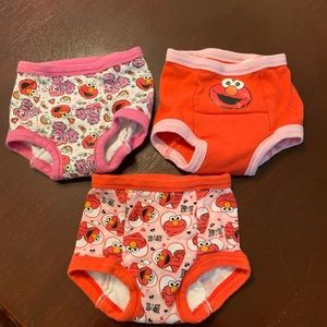Elmo Girls Training Underwear